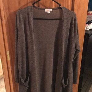 LuLaRoe Sarah Long Cardigan Medium